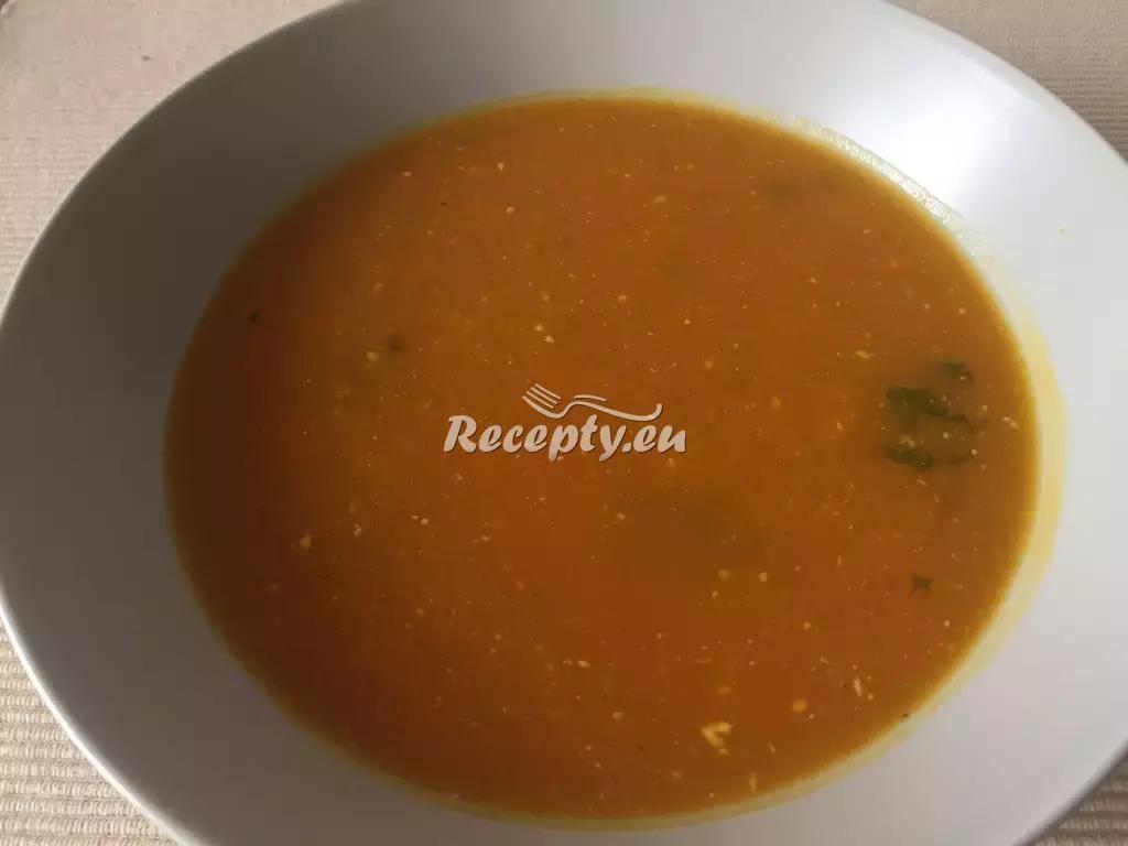 Dýňový krém recept  polévky