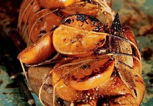 Kachna s orientálním kořením a mandarinkami
