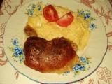 Kuřecí stehna s mandlovou nádivkou a smetanové těstoviny recept ...