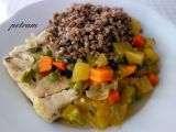 Ryba dušená na zelenině recept