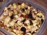 Mražené lesní houby recept