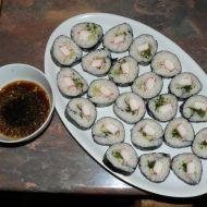 Sushi  Maki s krabími tyčinkami recept
