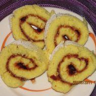 Babiččina piškotová roláda recept