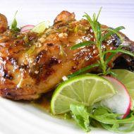 Pečené kuřecí stehno s chutí limetky recept
