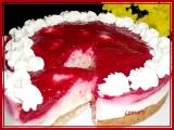 Malinový obláček s lehkým jogurtovým krémem recept  TopRecepty ...
