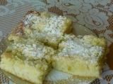 Hrnkový koláč s rebarborou recept