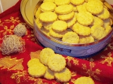 Zlaté sýrové sušenky recept