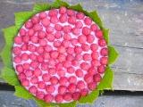 Malinový osvěžující dort recept