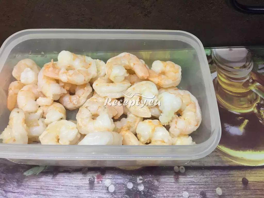 Ďábelské krevety recept  mořské plody