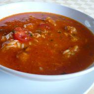 Rajská polévka s masovými nočky recept