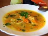 Vydatná cuketová polévka s kedlubnou a mrkví recept