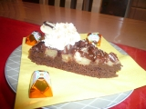Čokoládovo-banánový koláč recept