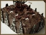 Čokoládovo-kakaový dort recept