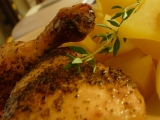 Pečené kuře na majoránce recept