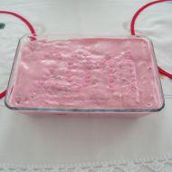 Malinový nepečený dort recept