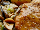 Vepřové karé s houbovým ragů recept