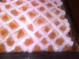 Tvarohový koláč sněhem zdobený (Rákocziho řezy) recept ...