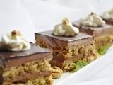 Ledove orechovo-kakaove kocky recept