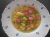 Mrkvovo-hrášková polévka s kari recept