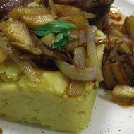 Hořčičná bramborová kaše recept