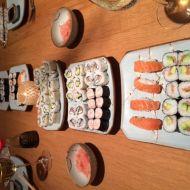 California rolls a nigiri sushi recept