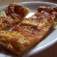 Vaječné placky se sýrem recept