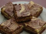 Piškotové mramorové řezy recept