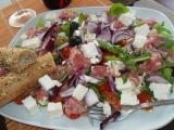 Luxusní rukolový salát recept