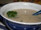Bílá polévka z hlívy ústřičné recept