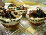 Lučinové muffiny se špenátem recept