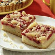 Rychlý drobenkový koláč s ovocem recept