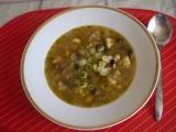 Květáková polévka se žampiony recept