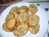 Bageta s česnekem a bylinkami recept