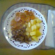 Marinované vepřové maso s dušenou mrkví recept