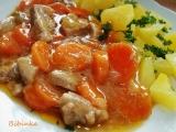 Marinované vepřové s mrkví recept