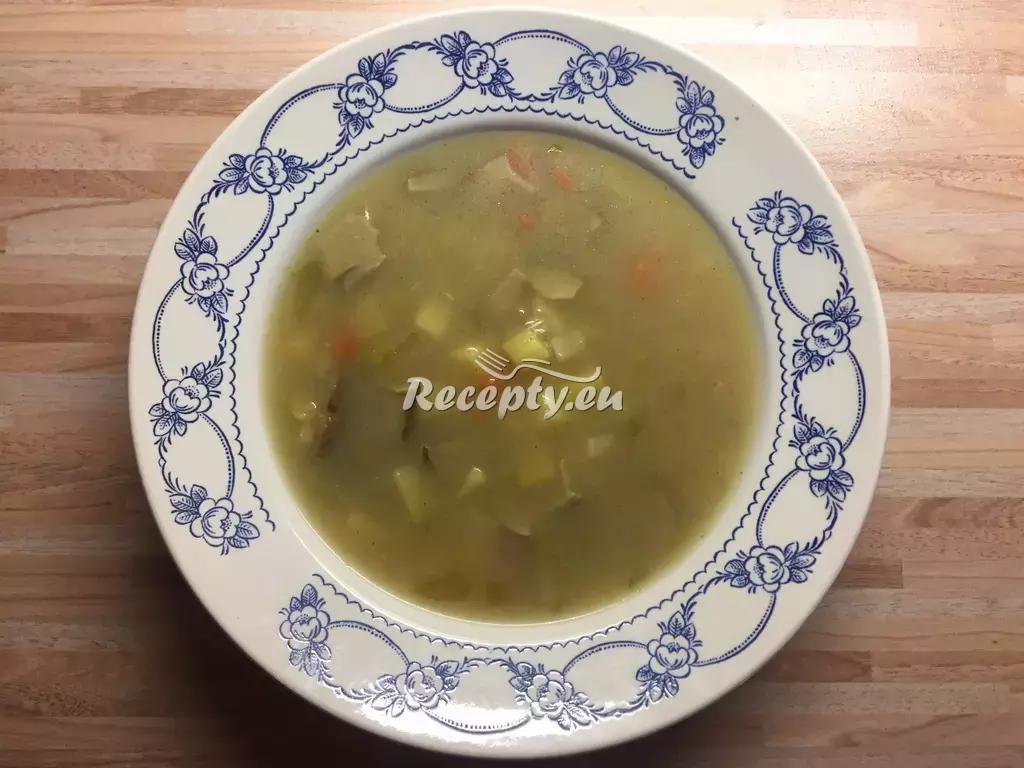 Francouzská polévka se žampiony recept  polévky