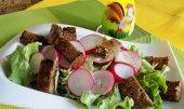 Francouzský salát z ředkviček recept