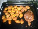 Kachna s brambůrky recept