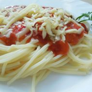 Domácí rajčatová omáčka na těstoviny recept