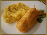 Řapíkatý celer plněný,v těstíčku smažený recept