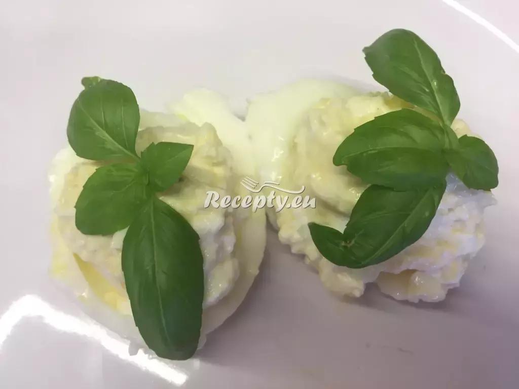 Plněná vejce II. recept  jídla z vajec
