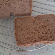 Kváskový žitno-pohankový chléb recept