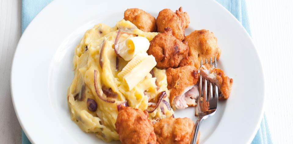 Pivní rarášci s bramborovou kaší