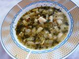 Kedlubno papriková polévka s bylinkami recept