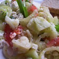Salát s květákem recept