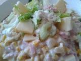 Vitaminový salát s řapíkatým celerem, ananasem a sýrem recept ...