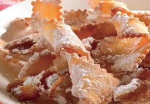 Točené fánky s cukrem