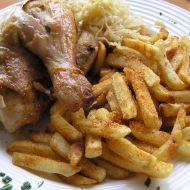 Kuře plněné zelím recept