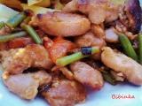 Naložené kuřecí stehení kousky recept