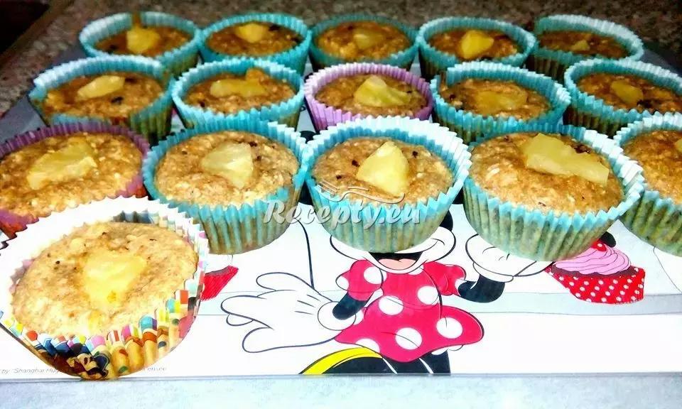 Cereální muffiny s jablky recept  pečivo